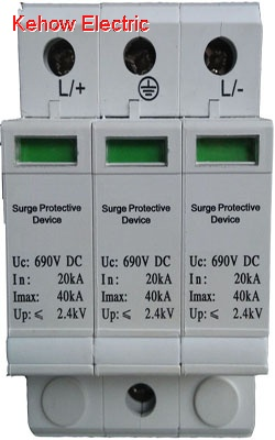 3P 690V DC wind system surge protector